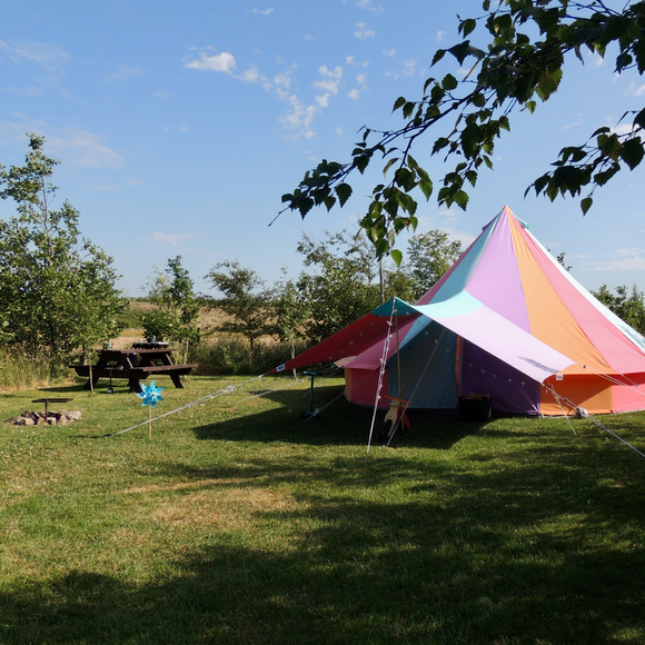 Secluded camping in Pembrokeshire